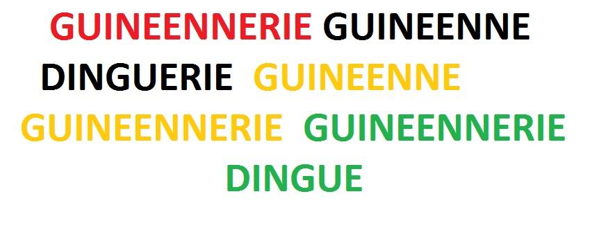 Des guinéenneries